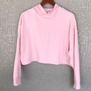 Fabletics Eco Conscious Cropped Hoodie Sz S